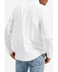 Everlane Standard Fit Performance Shirt - White