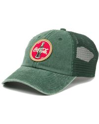 American Needle - Coke Raglan Bones Ballpark Hat - Lyst