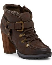 Not Rated - So Gully Lace-up Boot - Lyst