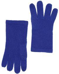 Phenix Cashmere Knit Gloves In 430bblu At Nordstrom Rack - Blue
