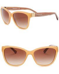 Emporio Armani - Honey 57mm Sunglasses - Lyst