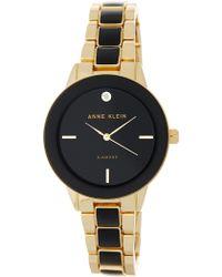 Anne Klein - Women's Diamond Dial Bracelet Watch - Lyst