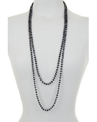 Tasha - Long Beaded Necklace - Lyst
