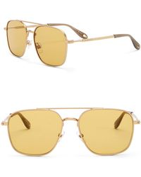 Givenchy - Aviator 58mm Sunglasses - Lyst