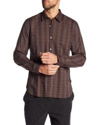 John Varvatos - Mayfield Plaid Slim Fit Shirt - Lyst