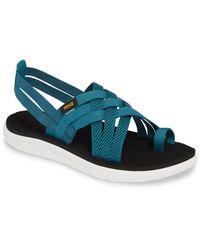 Teva Voya Strappy Sandal - Blue
