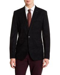 Ted Baker - Flocked Velvet Suit Jacket - Lyst
