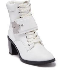 Calvin Klein Pahi Boot - White