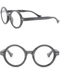 6f4a1b2ee6 Lyst - Ellen Tracy Cutout Cat-eye Metal Gradient Sunglasses in Black