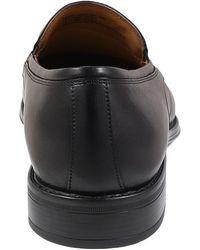 Florsheim Alanzo Moc Toe Venetian Loafer - Black