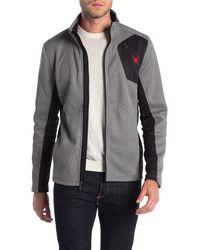 Spyder Raider Full Zip Lightweight Fleece Jacket - Gray