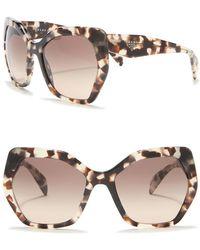 Prada - Heritage 56mm Sunglasses (nordstrom Exclusive) - Lyst
