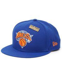 KTZ Nba 18 Draft 950 New York Knicks Otc Cap - Blue