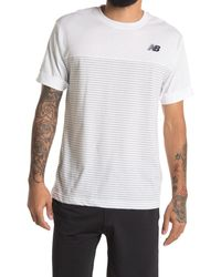 New Balance Classic Short Sleeve T-shirt - White