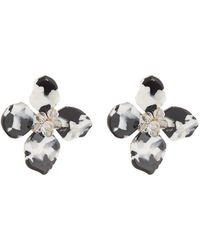 Shashi - Flora Lucite Earrings - Lyst