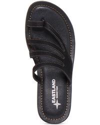 Eastland Tess Strappy Sandal - Black