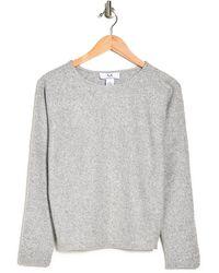 Magaschoni Long Sleeve Dolman Top - Gray
