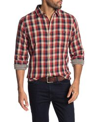 Wallin & Bros. Plaid Double Face Shirt - Red