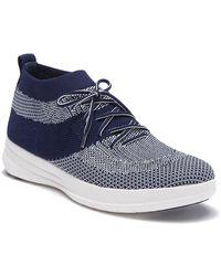 5aa5c7c5f Fitflop - Uberknit Slip-on High Top Sneaker - Lyst