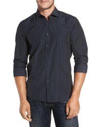 Robert Barakett - Charleston Regular Fit Plaid Sport Shirt - Lyst
