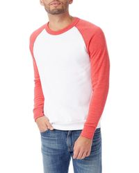 Alternative Apparel Apparel Colorblocked Champ Sweater - Pink