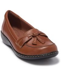 Clarks - Ashland Bubble Leather Slip-on Loafer - Multiple Widths Available - Lyst