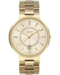 Catherine Malandrino - Women's Crystal Embellished Bracelet Watch - Lyst
