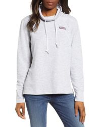Vineyard Vines Double Face Pullover - Gray