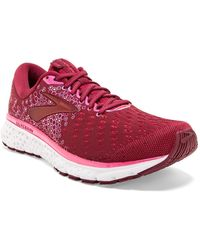 Brooks Glycerin 17 Running Shoe - Multiple Widths Available - Red