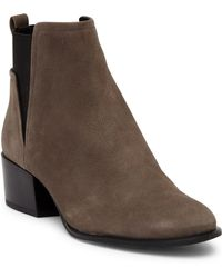 Kenneth Cole - Artie Nubuck Ankle Boot - Lyst