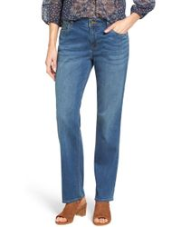 Vince Camuto - Stretch Straight Leg Jeans - Lyst