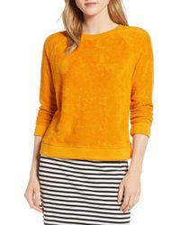 Lou & Grey Marc Loop Terry Sweatshirt - Yellow
