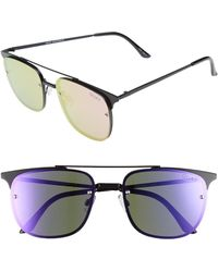 Quay - Private Eyes 55mm Sunglasses - Lyst