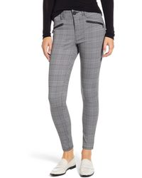 Wit & Wisdom Ab-solution Skinny Ponte Pants - Gray