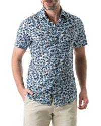Rodd & Gunn Men's Cape Wanbrow Animal Shirt - Blue