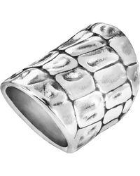 Uno De 50 - Savage Textured Ring - Lyst