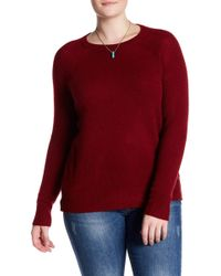 Naked Cashmere | Lana Crew Neck Cashmere Sweater (plus Size) | Lyst