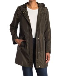 Via Spiga - Rain Packable Hooded Jacket - Lyst