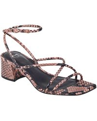 Marc Fisher Jared Ankle Strap Sandal - Pink