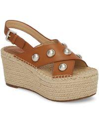 Marc Fisher - Rella Espadrille Platform Sandal (women) - Lyst