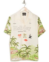 Scotch & Soda Hawaiian Holiday Printed Shirt - Multicolour
