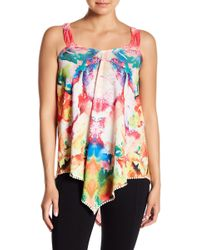 Sienna Rose - V-front Embroidered Top - Lyst
