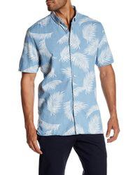 Barney Cools - Bahamas Short Sleeve Pattern Regular Fit Shirt - Lyst