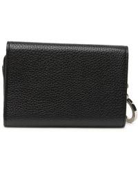 Steve Madden Julia Leather Wallet - Black
