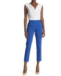 Chaus Fly Front Pants - Blue