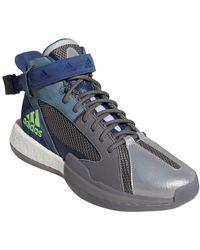 adidas Posterize Basketball Shoe - Blue