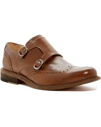 Bugatchi - Rimini Leather Monk Strap Loafer - Lyst