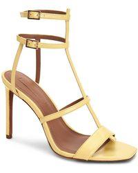 BCBGMAXAZRIA Iliana Dress Sandals - Metallic