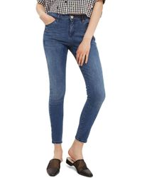 TOPSHOP - Sidney Skinny Ankle Jeans - Lyst