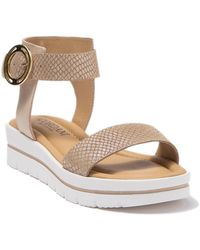 Cordani Addison Platform Sandal - Natural